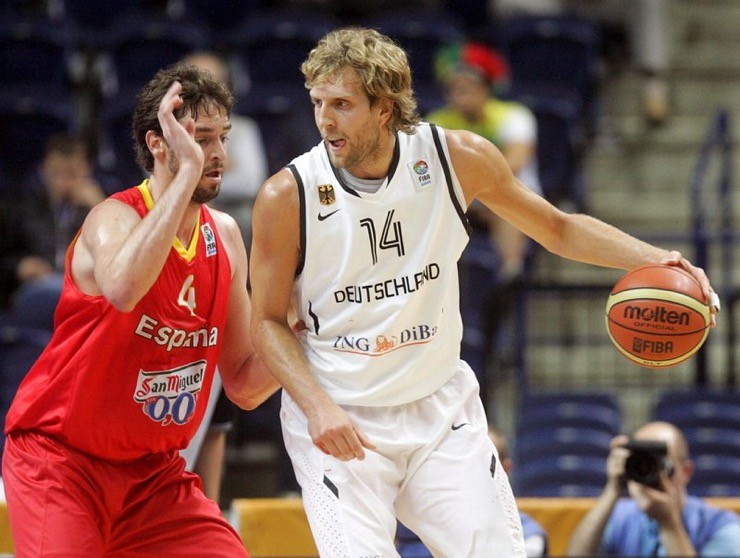 Dirk -gasol national teams