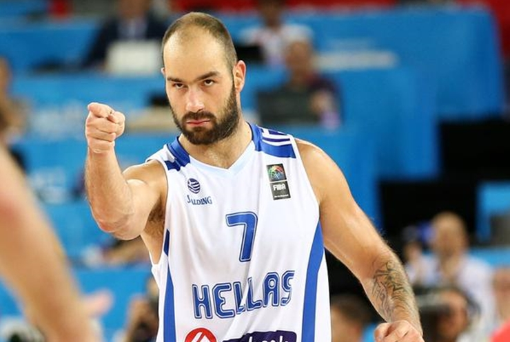 cooperar Departamento Gigante  Basketball-NBA Vassilis Spanoulis #7 Greece Europ Basketball League Jersey  Sports Mem, Cards & Fan Shop