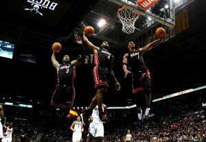 LeBron James & Dwyane Wade & Chris Bosh