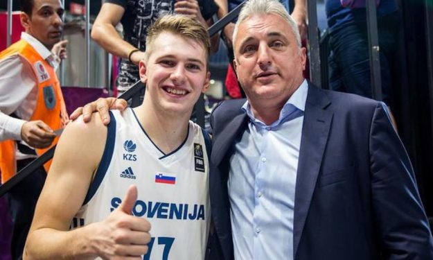 Picture of Luka  Dončić Father, called Saša