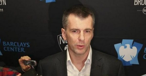 Brooklyn Nets owner Mikhail Prokhorov to attend the Final ...