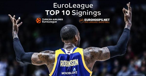 The Top10 Turkish Airlines EuroLeague signings for 2017-18