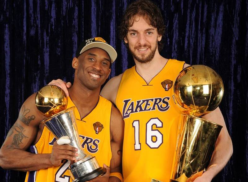 d300bc883c8 Kobe Bryant motivated Pau Gasol by hanging the 2008 Olympics gold medal in  the latter s locker
