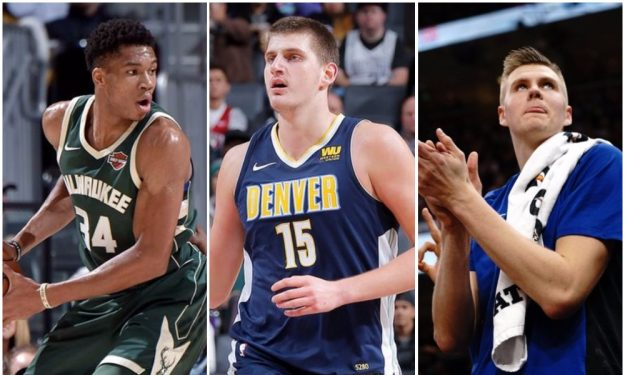 The top five European NBA players in
