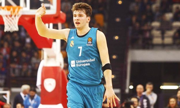 best website 0e6dc ea806 Luka Doncic won't work out for NBA teams ahead of the Draft ...