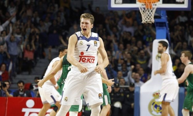 National Basketball Association draft -- Luka Doncic to attend draft after Real Madrid wins title