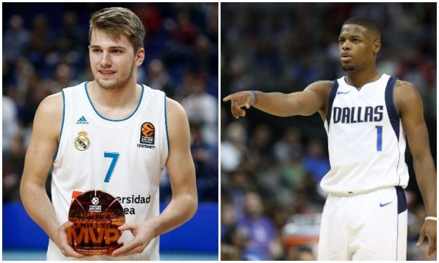 size 40 0371c f582d Dennis Smith on Luka Doncic: