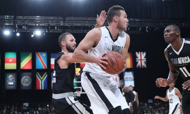 Team World make it three in a row in NBA Africa Game