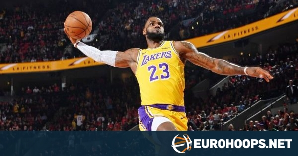Lebron James Dazzles In Lakers Uniform Eurohoops