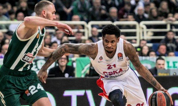 """Cska Pao Photo: Clyburn: """"EuroLeague Kupasını Yeniden CSKA'ya Getirmek"""