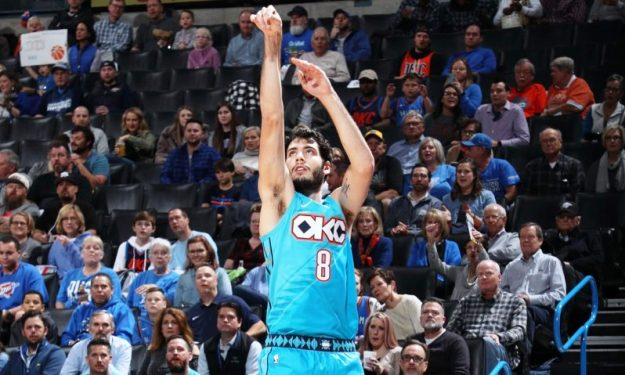 Oklahoma City Thunder waive guard Alex Abrines