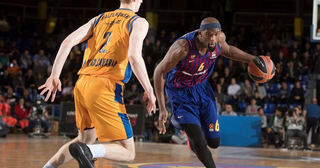 half off 1e013 7cd09 Barcelona beat Gran Canaria and hunts Efes | Eurohoops