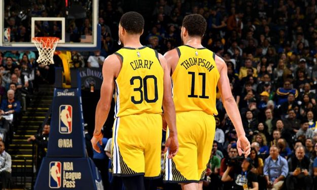 Curry Klay Thompson Splash Brothers Warriors