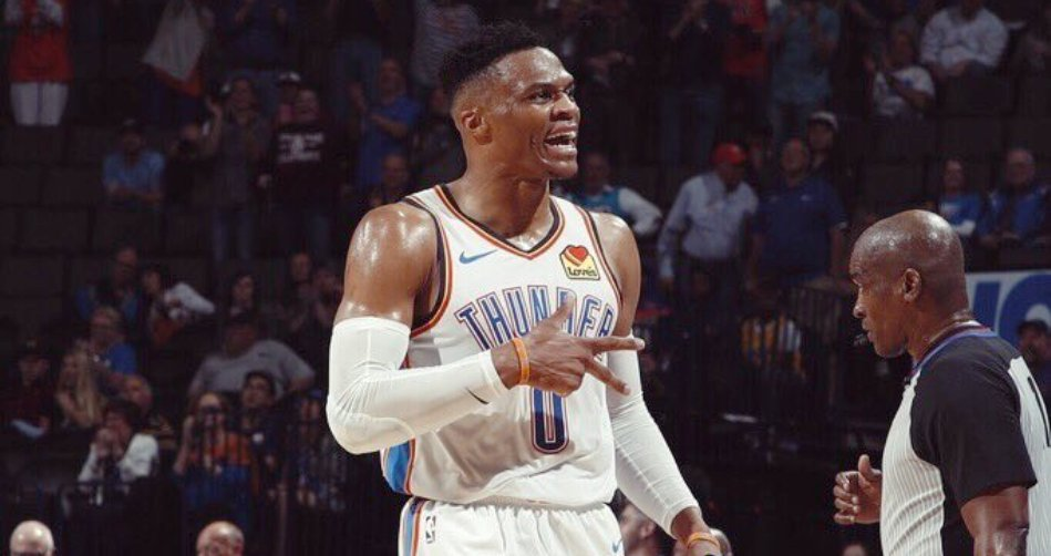 78c216eeb38 Russell Westbrook drops NBA s first 20 20 20 since Wilt Chamberlain s in  1968