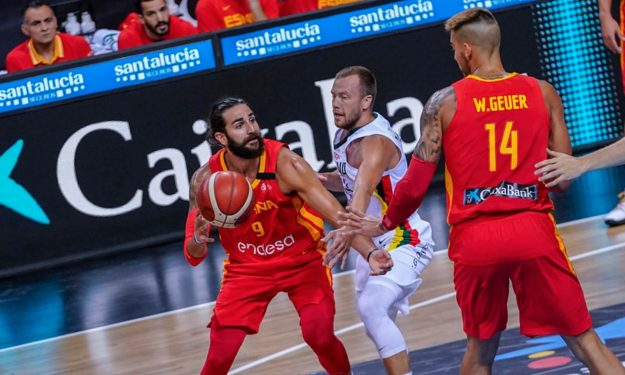 timeless design ac1e8 2ba50 Rubio and Willy Hernangomez led Spain over Lithuania | Eurohoops