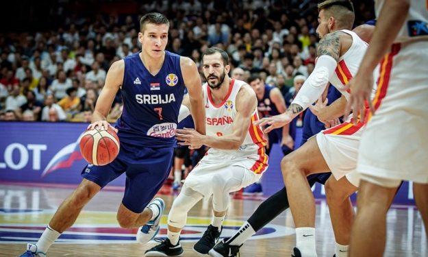 Argentina shocks Serbia, Spain knocks off Poland