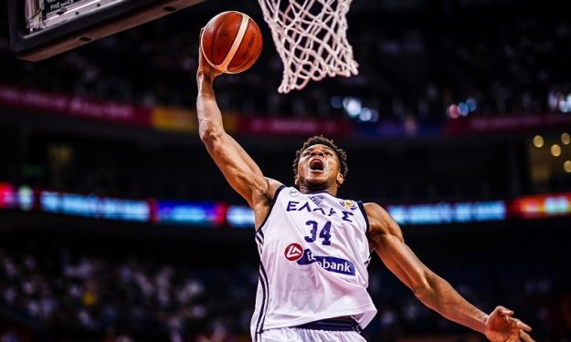 giannis antetokounmpo greece