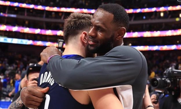 Lebron to Doncic: You are a bad motherf--ker | Eurohoops