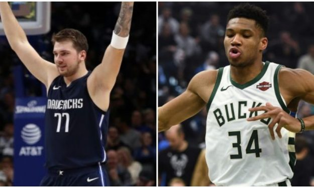 Luka Doncic And Giannis Antetokounmpo Lead The All Star Game
