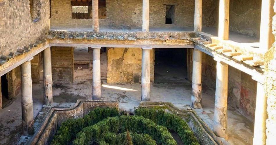 Πομπηία: Μετά από 40 χρόνια ξανά προσβάσιμο ένα αρχαιολογικό αριστούργημα (video)