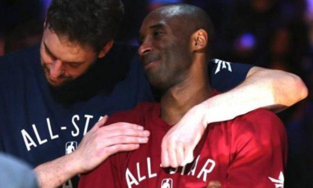 淚目!Kobe不幸遇難大Gasol給出承諾:瓦妮莎和孩子們他日有需要幫助,會義不容辭!