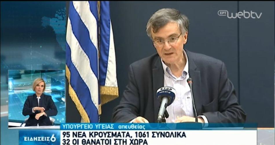 """Κορωνοϊός: 95 νέα κρούσματα, """"έσπασε"""" το φράγμα των 1000 στην Ελλάδα! (videos)"""