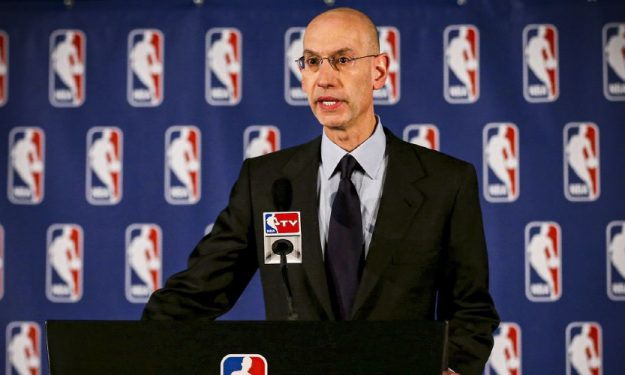 Signs point to National Basketball Association resuming play, but Adam Silver preaches caution