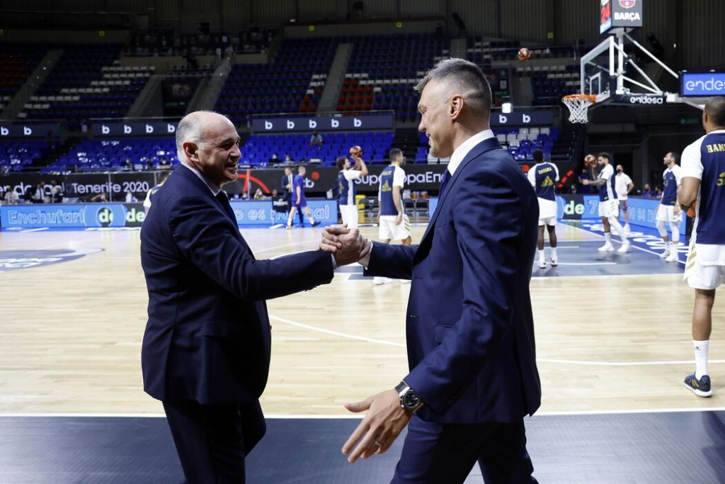 Saras and Laso: Absence of fans a big loss for Clasico | Eurohoops