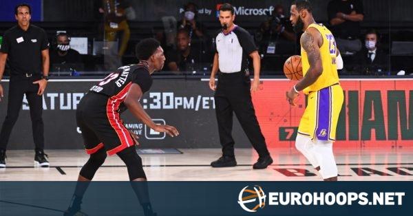 LeBron James ve Anthony Davis, Heat'i Devirdi; Lakers, Şampiyonluk Kapısını Araladı