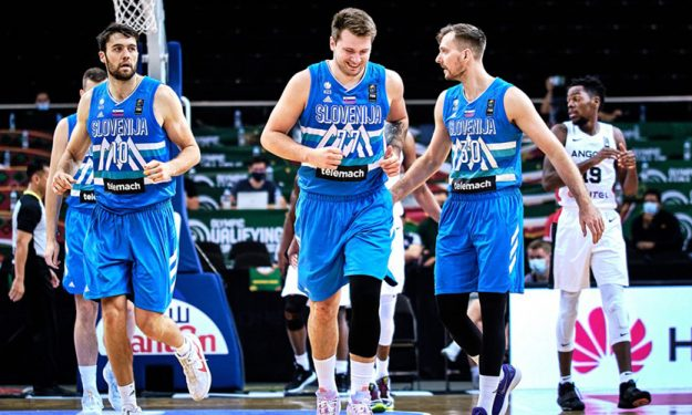 Luka Doncic and Slovenia get past Angola with a blowout win   Eurohoops