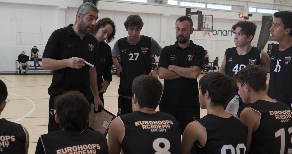 Πρωτάθλημα Παίδων: Τριφυλλιακός – Eurohoops Academy