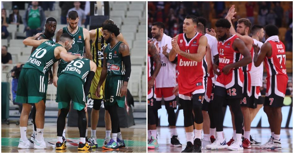 Stoiximan Basket League: Τότε θα γίνει το ντέρμπι Ολυμπιακός – Παναθηναϊκός